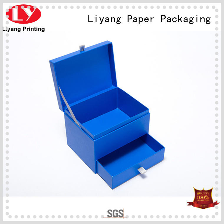 Liyang Paper Packaging silver cardboard gift boxes with lids fashion design for soap