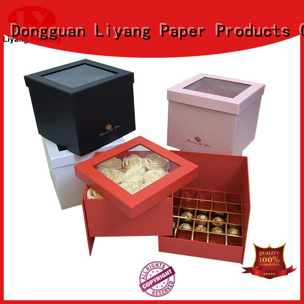 Liyang Paper Packaging heart-shape custom food boxes free sample for gift