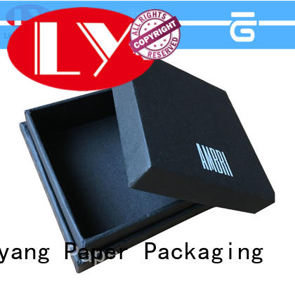 Liyang Paper Packaging luxury paper jewelry box paper for necklace
