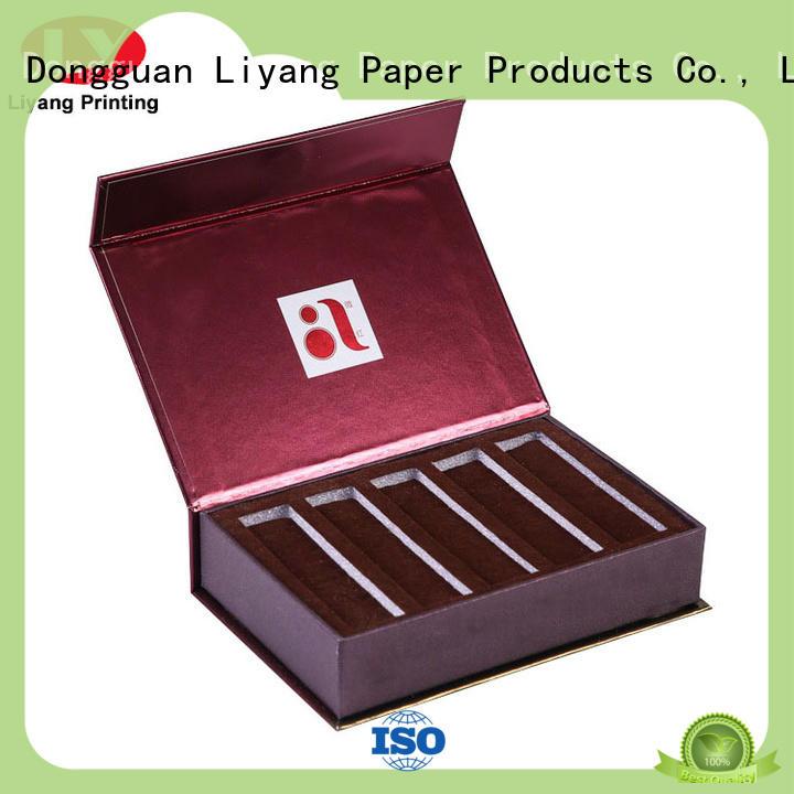 Liyang Paper Packaging luxury luxury cosmetic box custom for nail polish