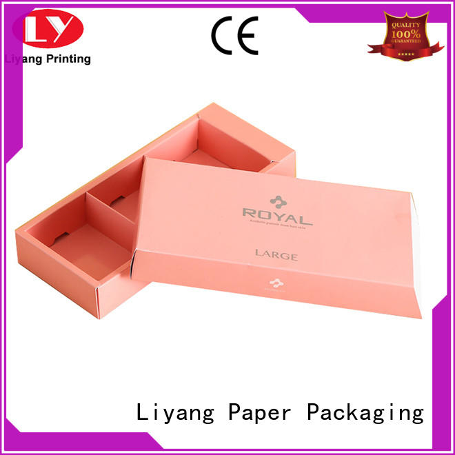 Liyang Paper Packaging fashion food packaging boxes wholesale bulk production for biscuit