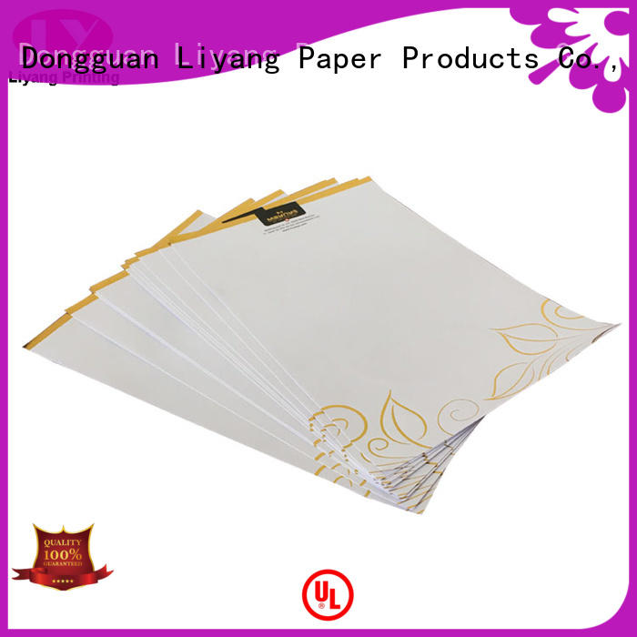 Liyang Paper Packaging free design catalog printing for wholesale sticker label