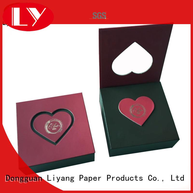 Liyang Paper Packaging environmental-friendly food packaging box bulk production for chocolate