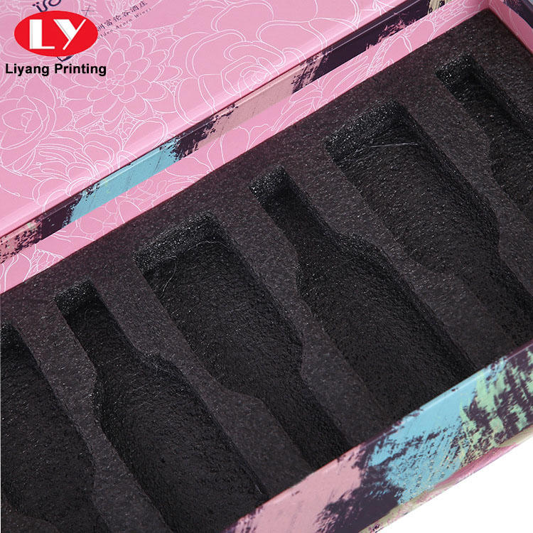Liyang Paper Packaging pink cardboard cosmetic box factory price for makeup-2