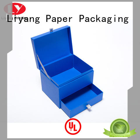 Liyang Paper Packaging base luxury gift box packaging fast delivery for bakery