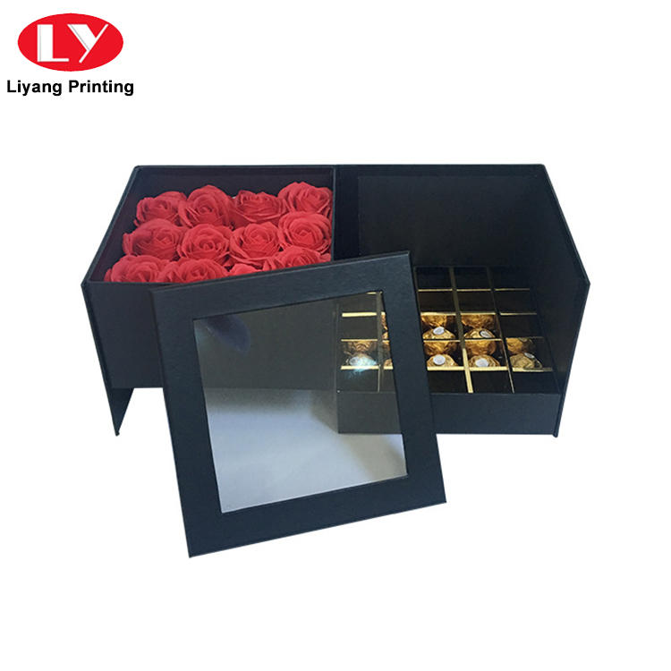 Hot Sale Handmade Fancy Design Chocolate Truffle Gift Packaging Box with Lid-1