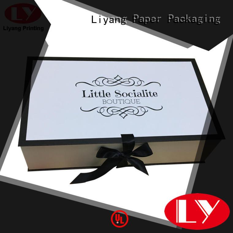Liyang Paper Packaging flat custom clothing packaging drawer