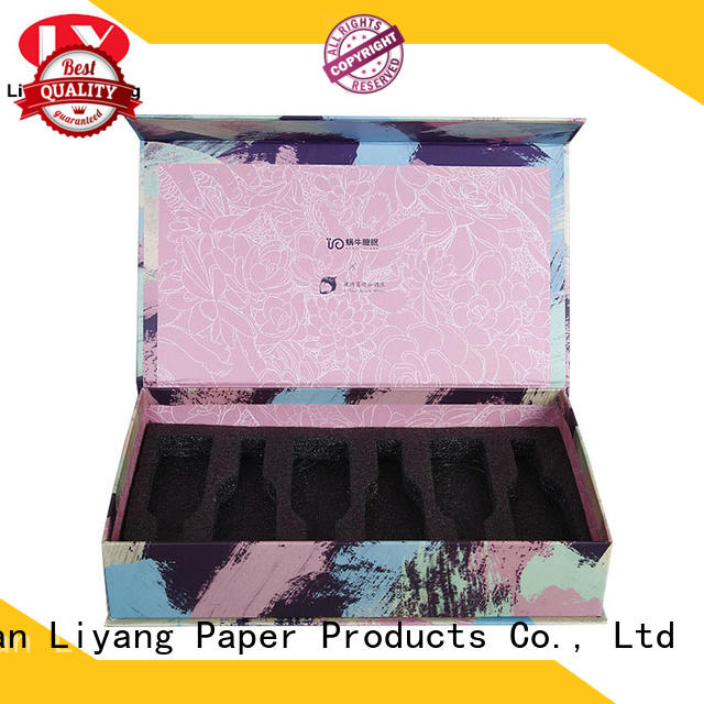 Liyang Paper Packaging purple makeup packaging boxes for wholesale for brush