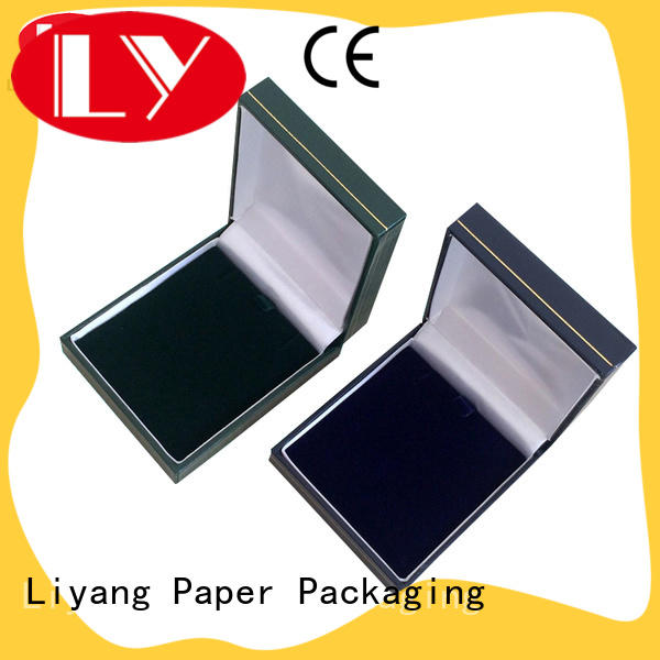 Liyang Paper Packaging lid cardboard jewelry gift boxes ODM for ring