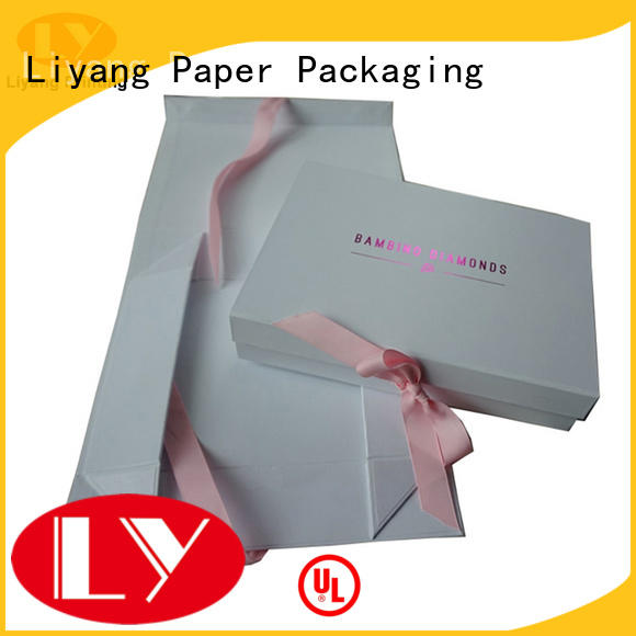 Liyang Paper Packaging mailer paper gift box bulk production for christmas
