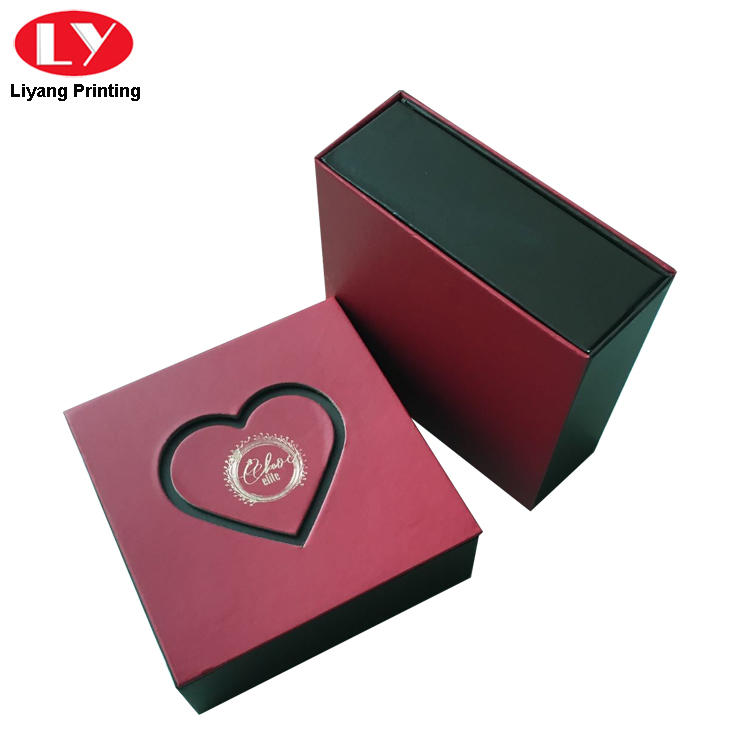 sanitary food packaging box red free sample for display-3