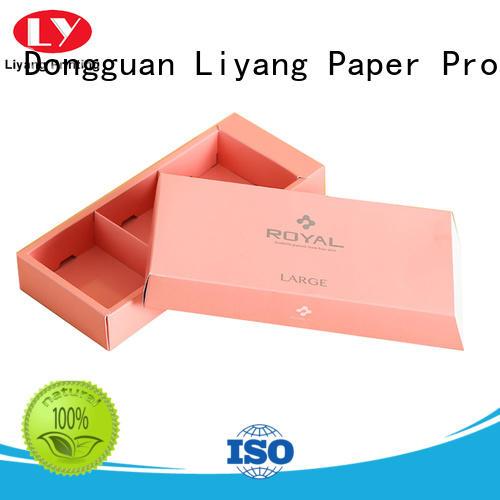 Liyang Paper Packaging printed food packaging supplies free sample for display