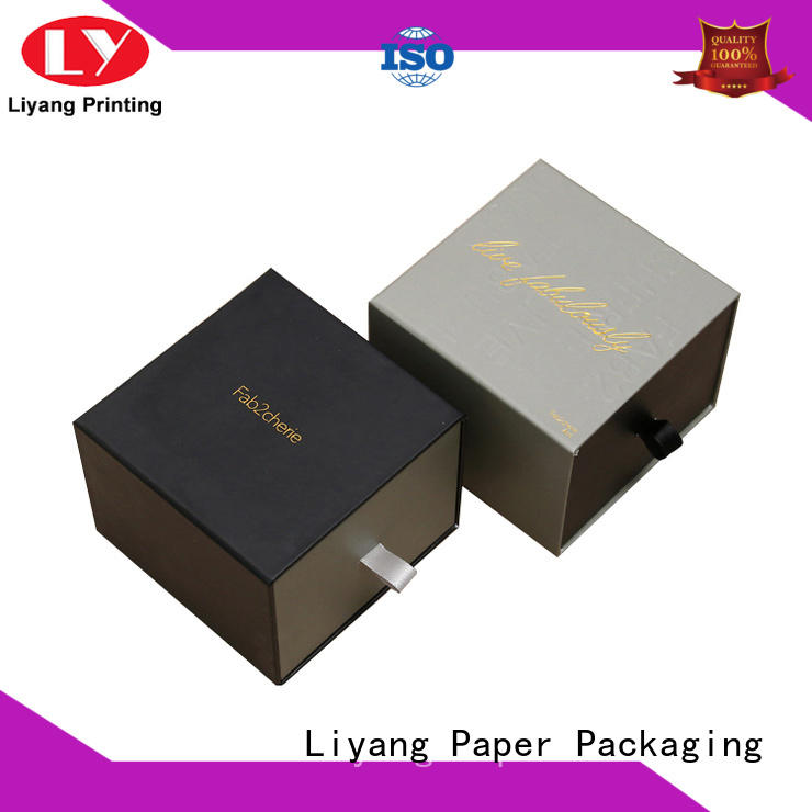 Liyang Paper Packaging foldable paper gift box boxes for bakery