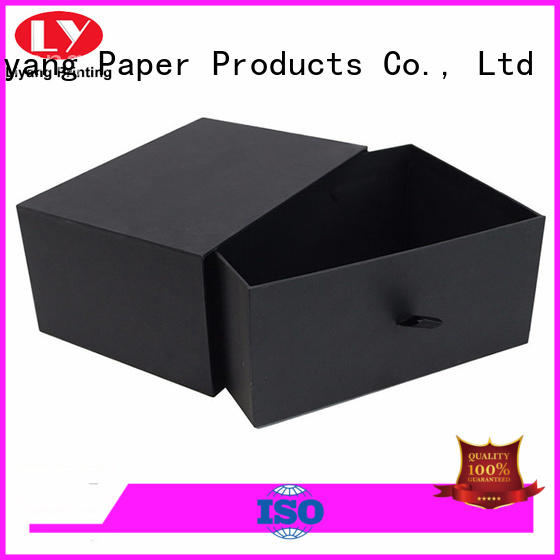 Liyang Paper Packaging newly square boxes with lids fashion design for marble