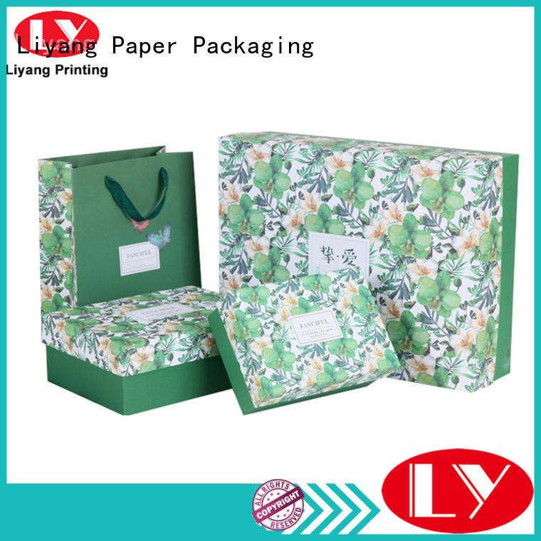 Liyang Paper Packaging folding cardboard cosmetic box custom for nail polish