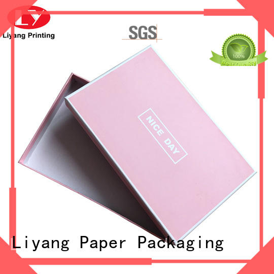 size paper gift box green for soap Liyang Paper Packaging