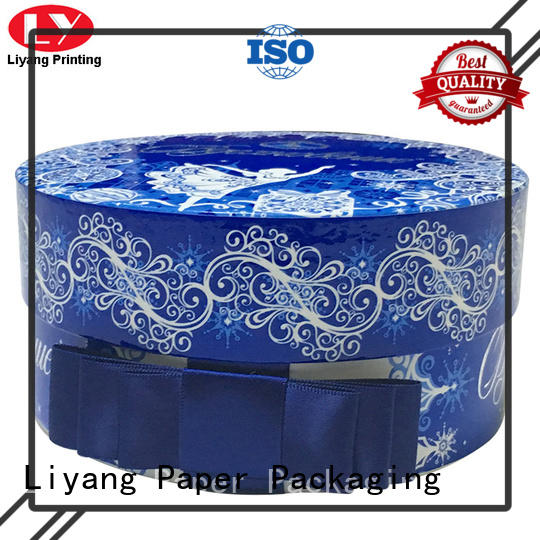 Liyang Paper Packaging luxury cylinder box at discount for bracelet