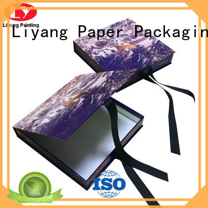 all sizes custom clothing boxes oem for wedding dress Liyang Paper Packaging