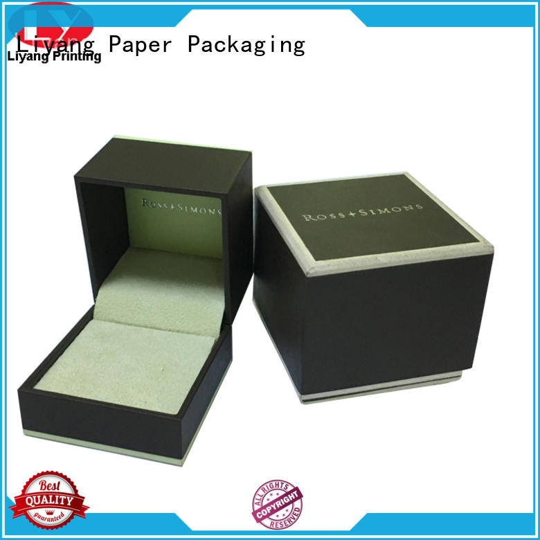 Liyang Paper Packaging personalized custom jewelry box packaging at discount for necklace