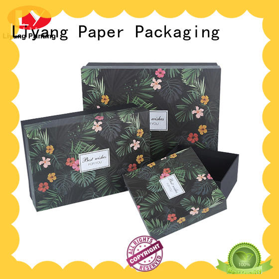 cardboard gift boxes with lids shipping for soap Liyang Paper Packaging