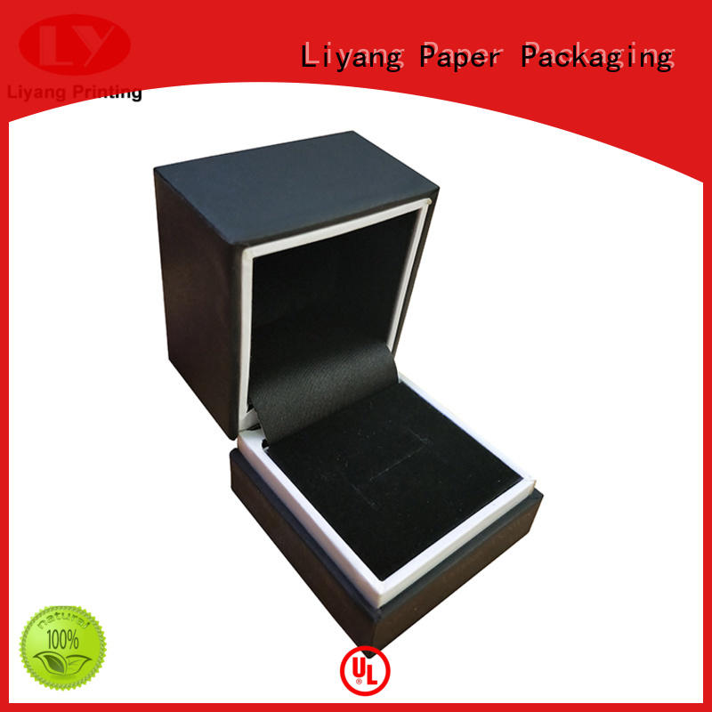 Liyang Paper Packaging recycled custom paper jewelry boxes slide for small bracelet
