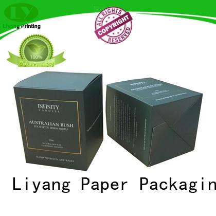 Liyang Paper Packaging colorful candle box packaging best service for homes