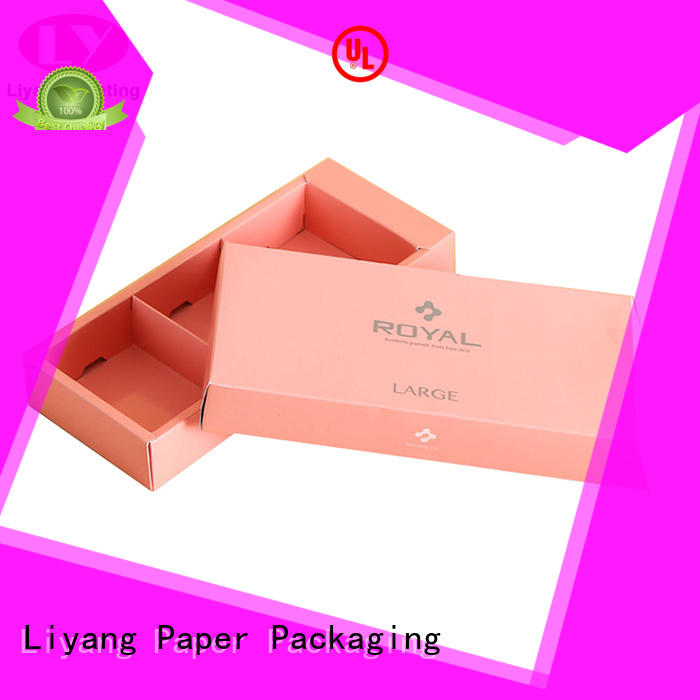 Liyang Paper Packaging food packaging box customization service for display