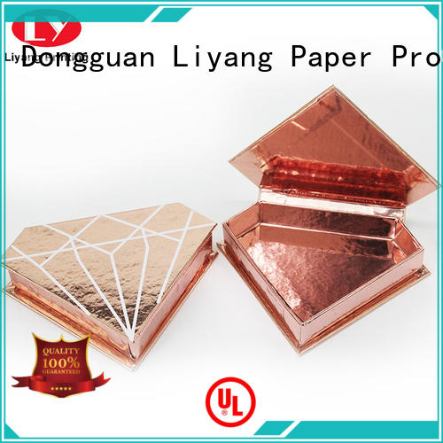 handle cosmetic gift packaging factory price for nail polish Liyang Paper Packaging