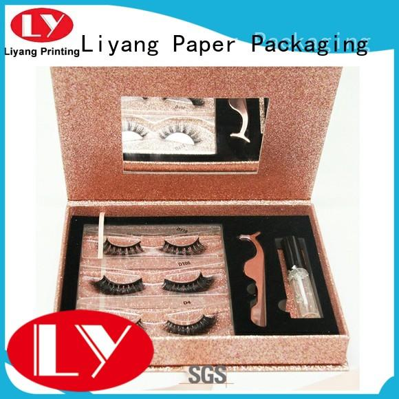 Liyang Paper Packaging popular cosmetic box packaging suppliers ivory for lipstick