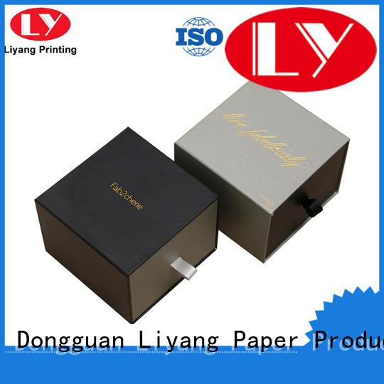 handmade square gift box bulk production for soap Liyang Paper Packaging