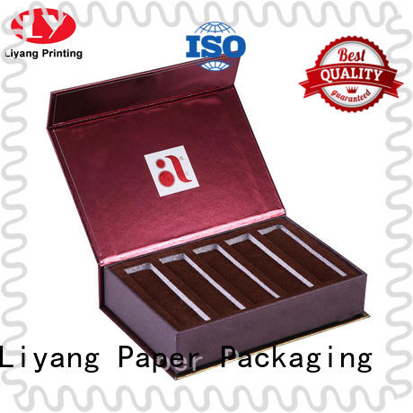 handle paper box for cosmetic high quality for makeup Liyang Paper Packaging