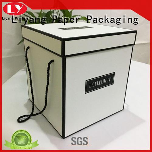 cardboard cardboard flower boxes twist for gift packing Liyang Paper Packaging
