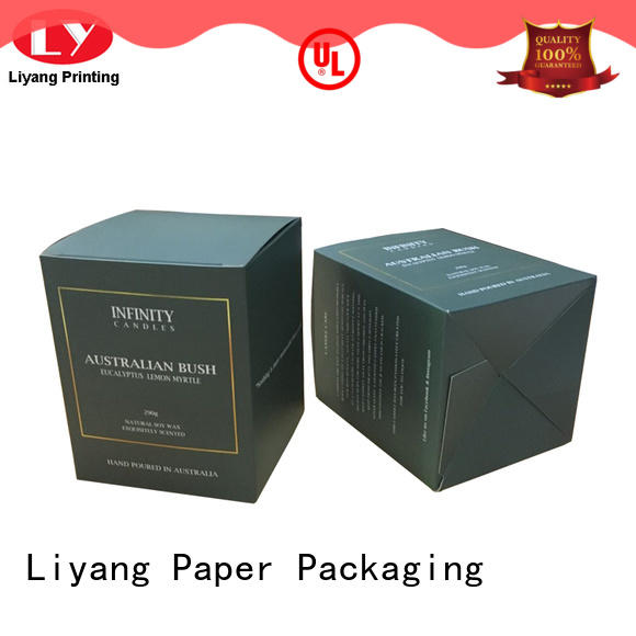 Liyang Paper Packaging colorful boxes for candles best service for homes