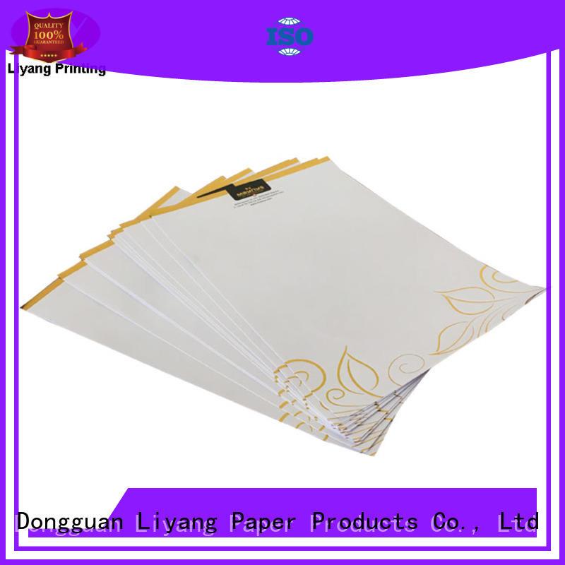 Liyang Paper Packaging envelope business folder printing presentation book production
