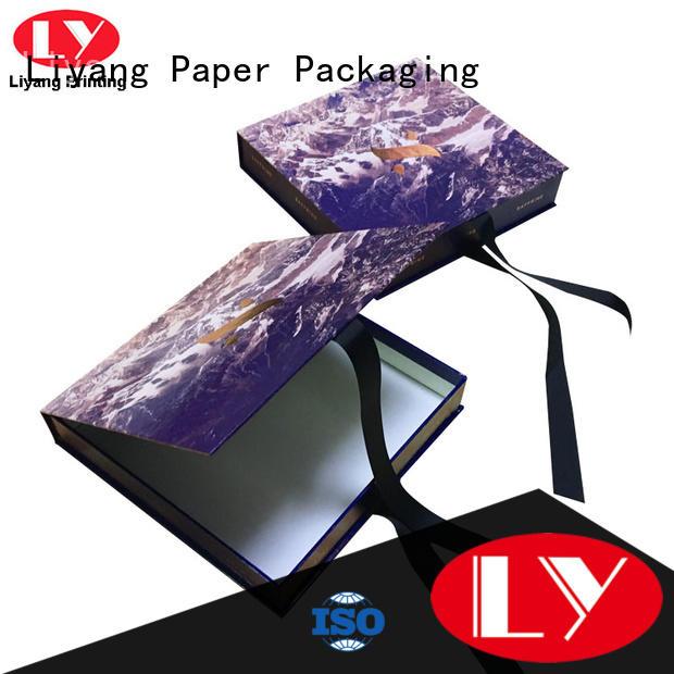 boxes custom clothing packaging odm for gift Liyang Paper Packaging