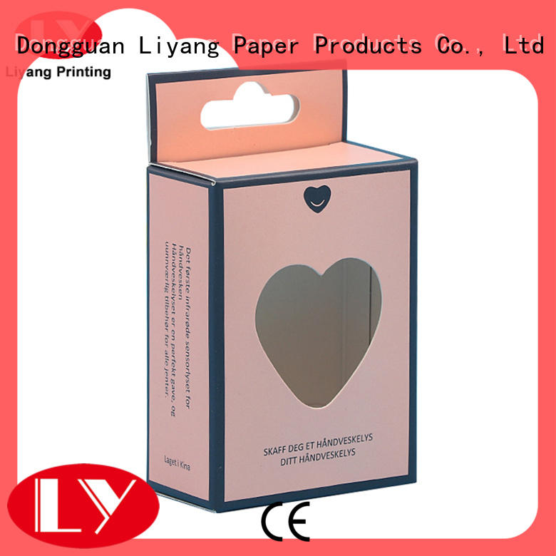 Liyang Paper Packaging gift cosmetic gift box high quality for makeup