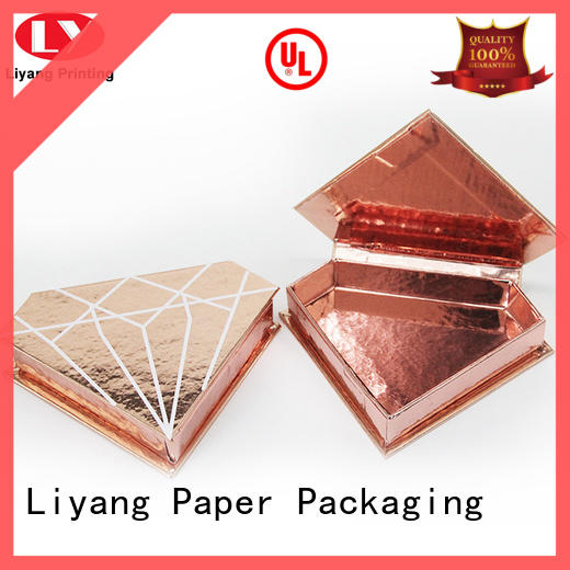 Liyang Paper Packaging closure pillow box with ribbon handle free sample for packaging