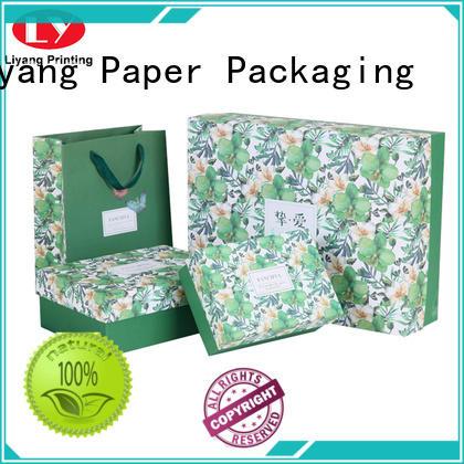 cardboard cosmetic paper box ribbon for nail polish Liyang Paper Packaging