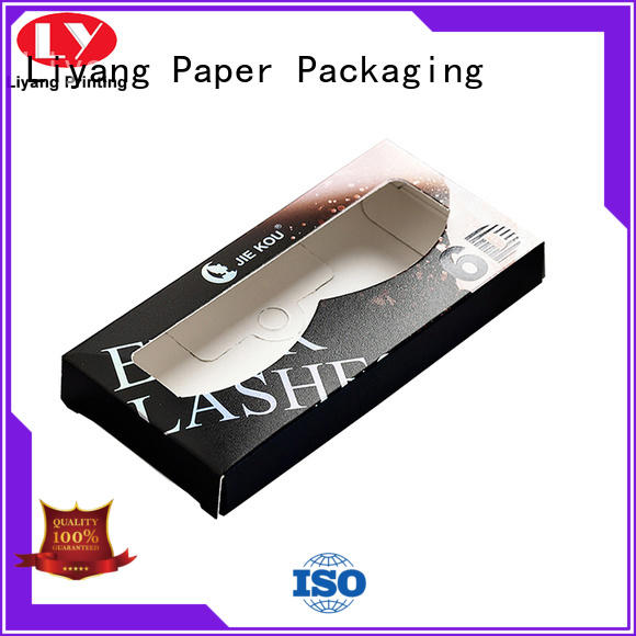 Liyang Paper Packaging color printed luxury cosmetic box factory price for packaging