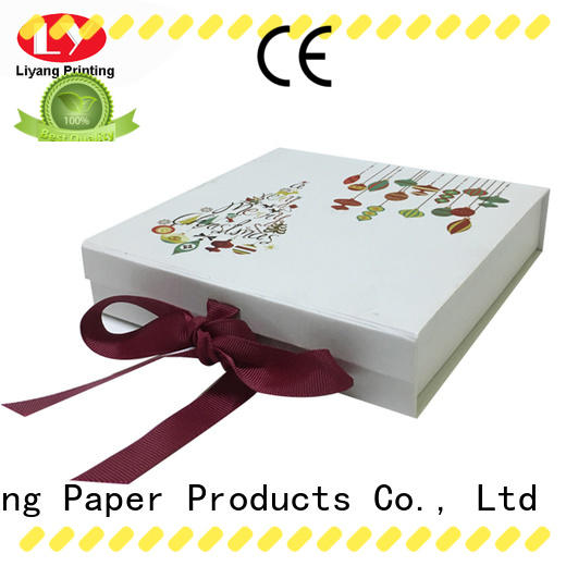 Liyang Paper Packaging printed magnetic gift box photo for marble