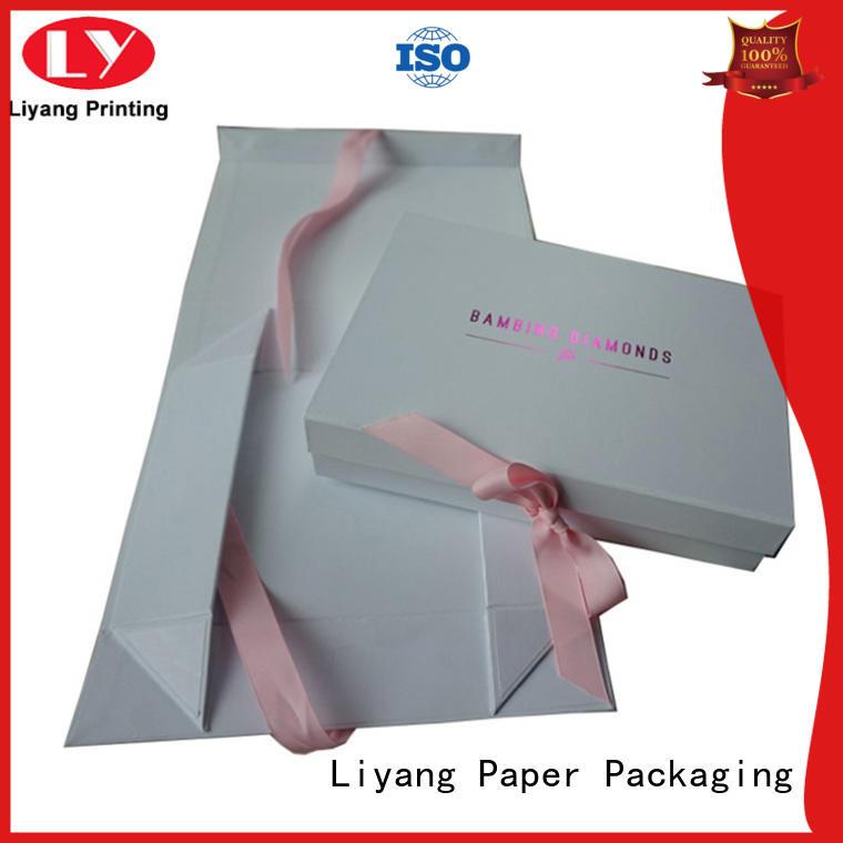 Liyang Paper Packaging cardboard cardboard gift boxes fashion design for christmas
