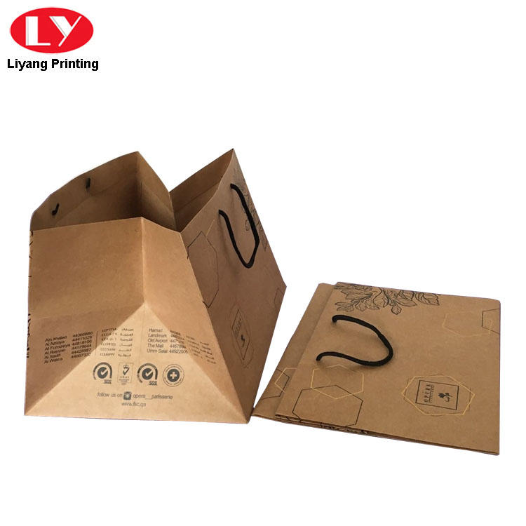 ODM paper shopping bags full and bright for girl Liyang Paper Packaging-2