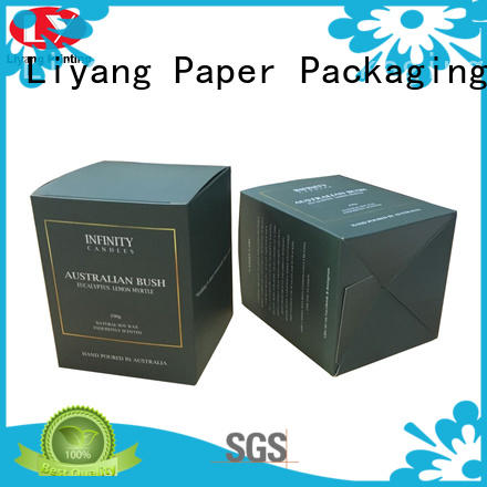 Liyang Paper Packaging square candle gift boxes paperboard for restaurants