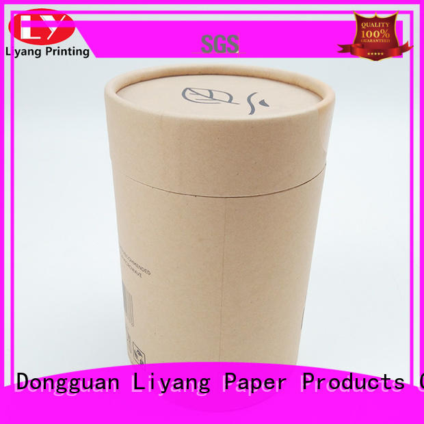 Liyang Paper Packaging hot-sale large round boxes with lids environmental-friendly for packaging