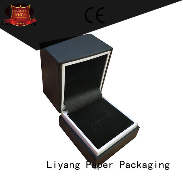 pull jewelry packaging boxes drawer for small bracelet Liyang Paper Packaging
