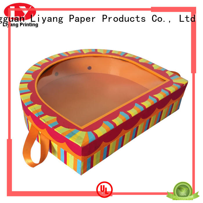 Liyang Paper Packaging custom shaped boxes at discount for christmas