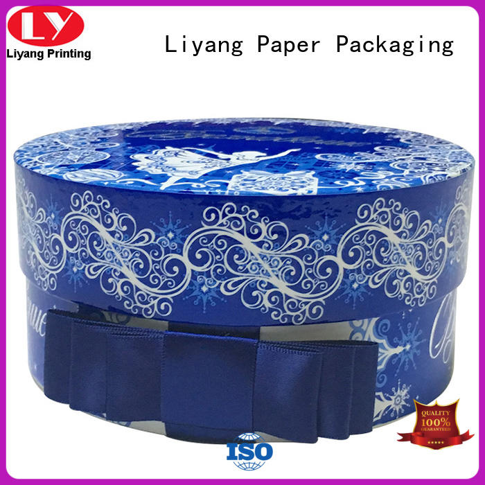 OEM round gift box all sizes for packaging Liyang Paper Packaging