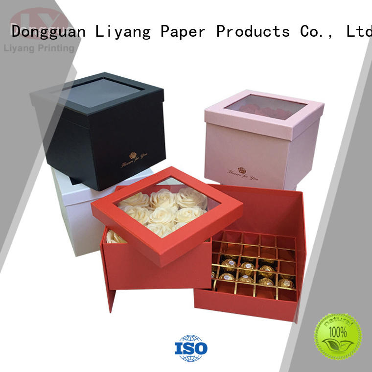 Liyang Paper Packaging hot-sale food packaging containers free sample for food
