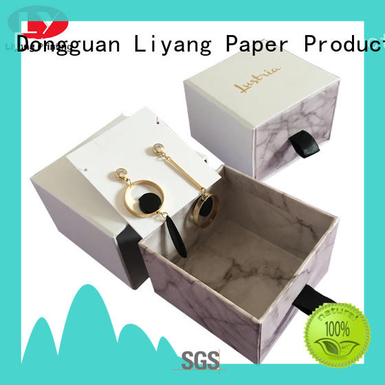 recycled jewelry packaging boxes foam bulk production for gift