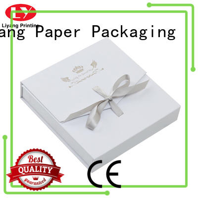 Liyang Paper Packaging foam custom paper jewelry boxes bulk production for necklace
